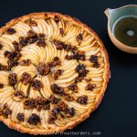Apple Cider Cake with caramelised Walnuts