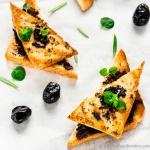 Tofu Bruschetta with Tapenade