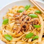 Spicy Sichuan chicken noodle
