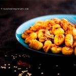 Stir fried Gnocchi with Kimchi